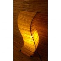 Lampe wave jaune