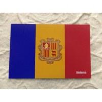 Aimant drapeau Andorre
