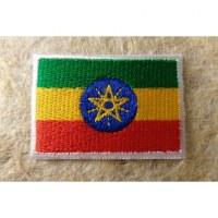 Ecusson drapeau Ethiopie