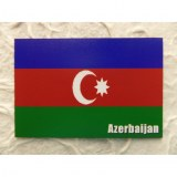 Aimant drapeau Azerbaïdjan