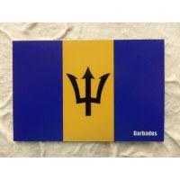 Aimant drapeau de la Barbade