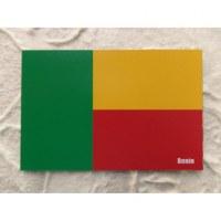 Aimant drapeau du Bénin