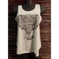 Débardeur tête d'éléphant