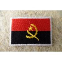 Ecusson drapeau Angola