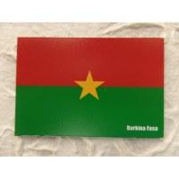 Aimant drapeau Burkina Faso