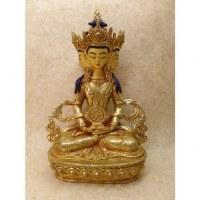 Bouddha Apermita doré à l'or fin