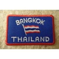 Ecusson drapeau Bangkok Thaïlande