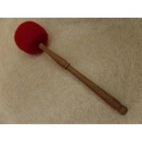 Bâton bois/feutre pour bol chantant ou gong