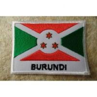 Ecusson drapeau Burundi