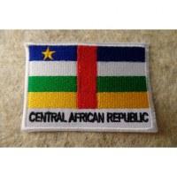 Ecusson drapeau Centrafrique