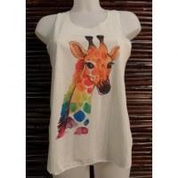 Débardeur girafe color