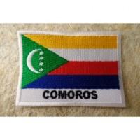 Ecusson drapeau Comores