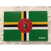Aimant drapeau Dominique