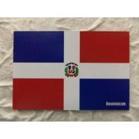 Aimant drapeau république Dominicaine