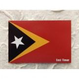 Aimant drapeau Timor oriental