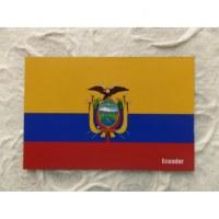 Aimant drapeau Equateur