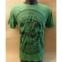 Tee shirt vert Bouddha Jayanthi