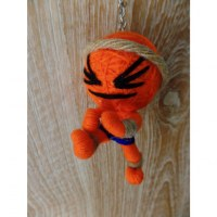 Porte clés big le maître kung fu orange