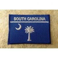 Ecusson drapeau Caroline du sud