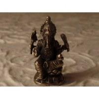 Miniature du dieu Ganesh jambe pliée