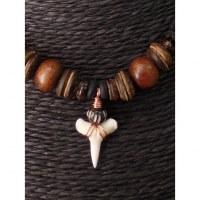 Collier Maraa dent de requin blanc 1