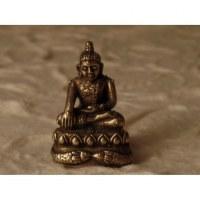 Miniature de Bouddha Bhumisparsa