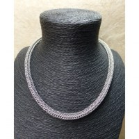 Chaine ronde argent maille