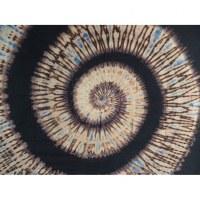 Tenture hypnotika marron/beige/bleu