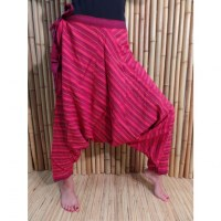 Pantalon sarouel Lumbini rouge