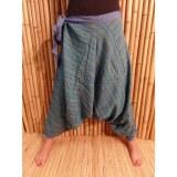 Pantalon sarouel Lumbini turquoise