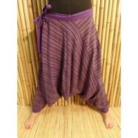 Pantalon sarouel Lumbini violet