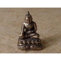 Bouddha prenant la terre à témoin gris