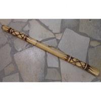 Didgeridoo bambou brûlé