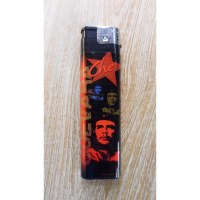 Briquet grand format El Che noir/rouge