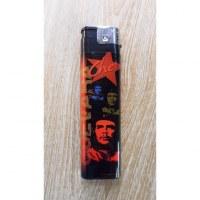 Briquet grand format El Che noir/rouge