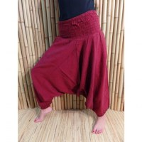 Pantalon Bagmati bordeaux