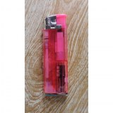 Briquet lampe rose