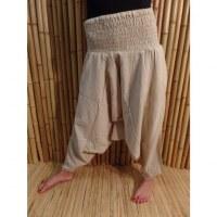 Pantalon Bagmati blanc cassé