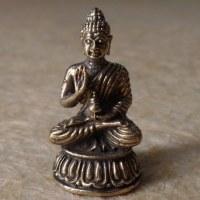 Miniature Bouddha Bhaishavaguru gris