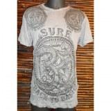 T shirt gris acier Aum