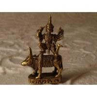 Miniature Shiva et Nandi