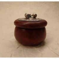 Mini-boîte marron marmite