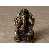 Ganesh doré assis Aum 2