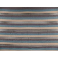Tenture couverture Kérala bleu/blanc