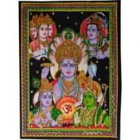 Petite tenture dieux hindous