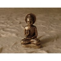 Bouddha abhayamudrâ larmoyant