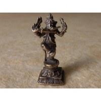 Petit Ganesh debout dansant gris