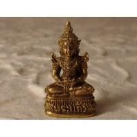 Miniature dorée beautiful Bouddha