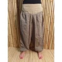 Pantalon gris/écru Karnali