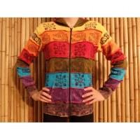 Veste patchwork rainbow